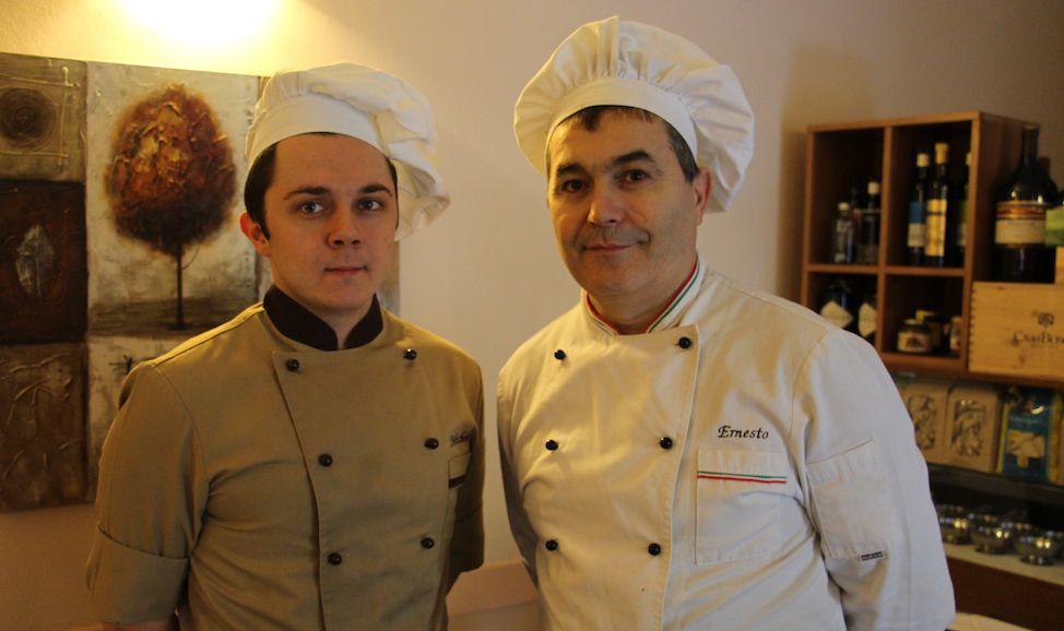 Ernesto Sandrini Chef e Patron Ristorante Stella d'Italia Gambara