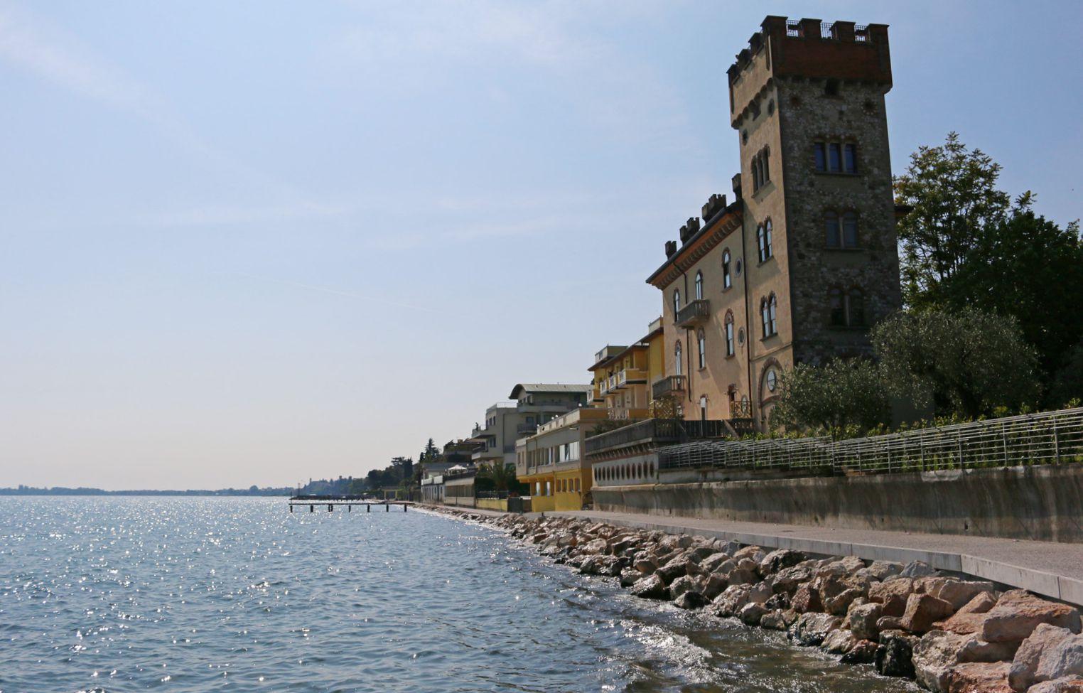 Passeggiata a lago Desenzano