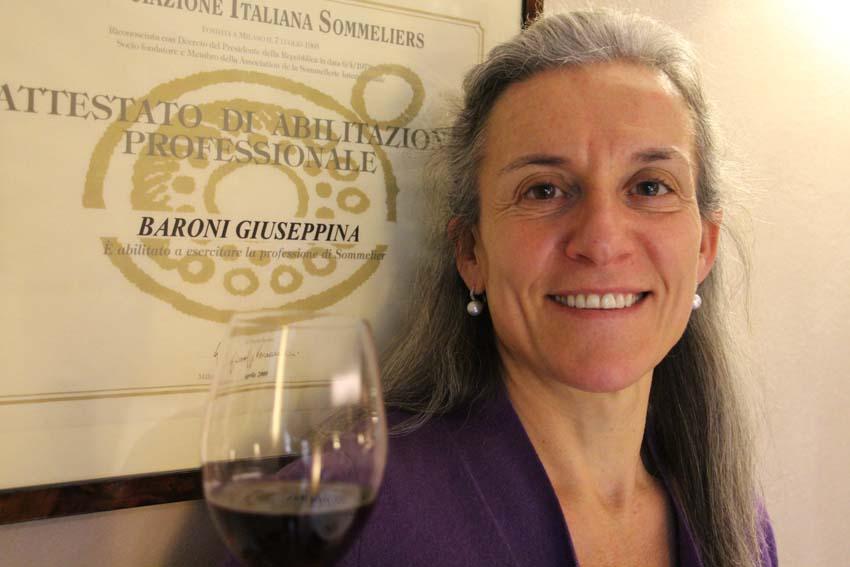 Sommelier Pinuccia Baroni | Trattoria Conti Roncadelle