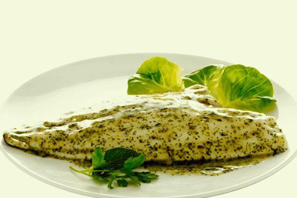 Filletto di pesce alle erbe aromatiche