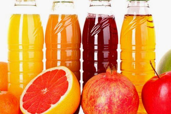 Succhi di frutta industriali