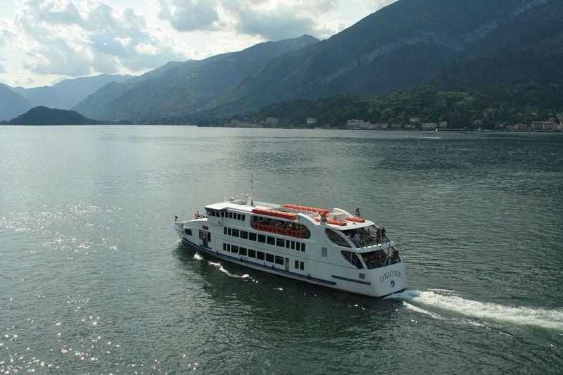 Imbarcazione sul Garda