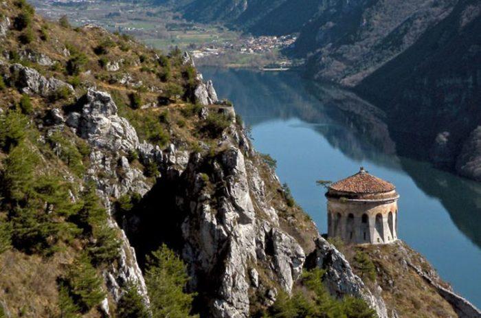 Rocca d'Anfo - Vista sul Lago d'Idro