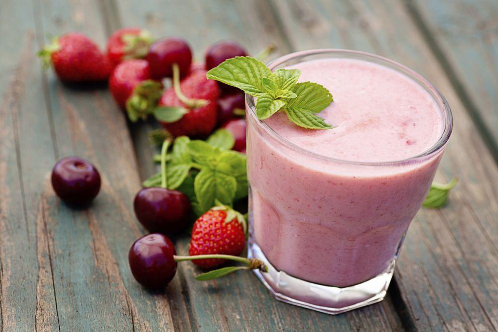 Smoothie ai frutti rossi