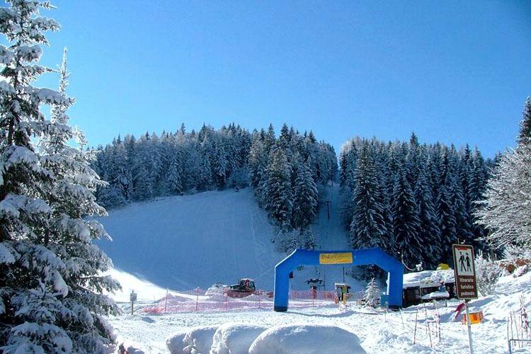 Pista da sci in Val Palot