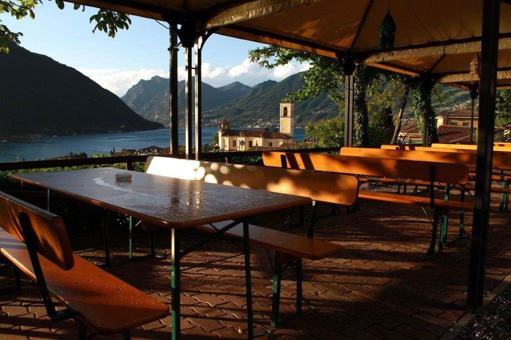Panorama dalla Trattoria Cacciatore - Sulzano