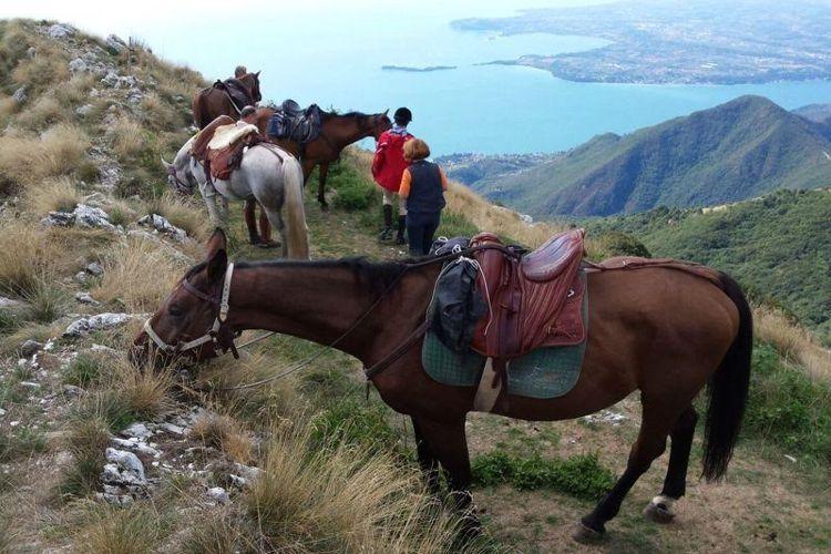 Trekking a cavallo a Toscolano Maderno