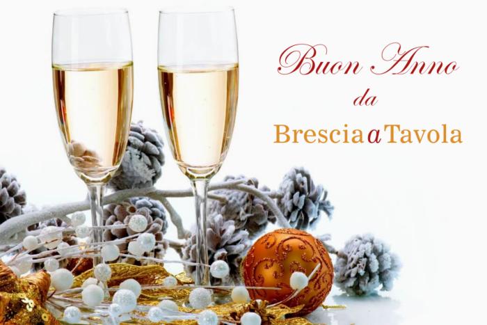 Gli auguri di Buon Anno da Brescia a Tavola News
