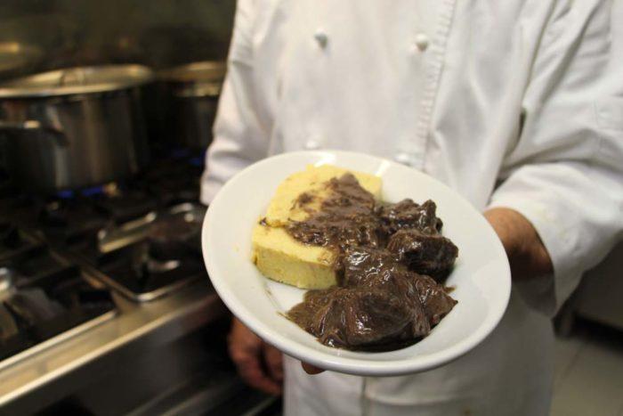 Brescia_Osteria Al Bianchi_Brescia_Stracotto d'asino con polenta