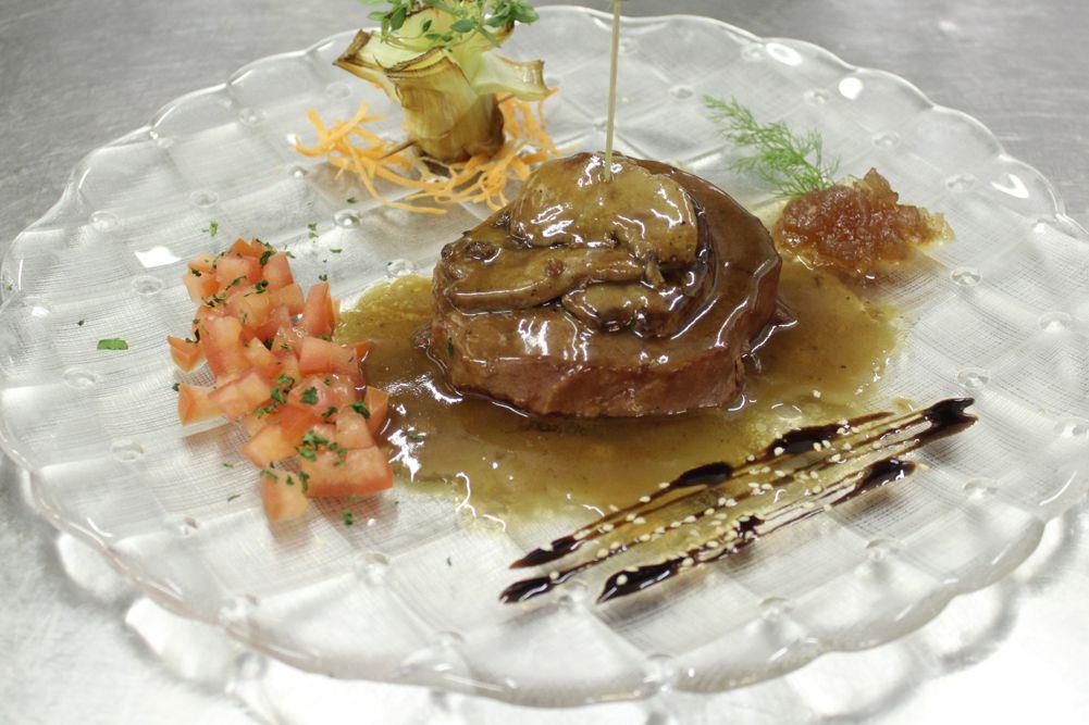 Filetto di tonno con scaloppe di foie gras al ristretto di Madeira | Ristorante Erica - Sirmione