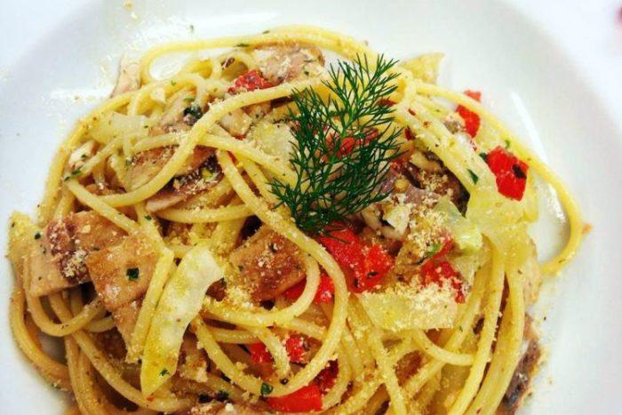 Spaghettoni alle Sarde di lago | Hostaria Uva Rara