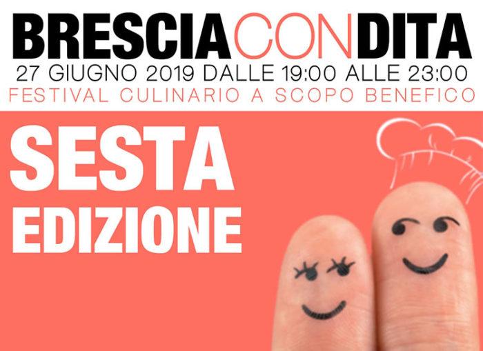 Brescia Condita 2019 Festival Culinario a scopo benefico