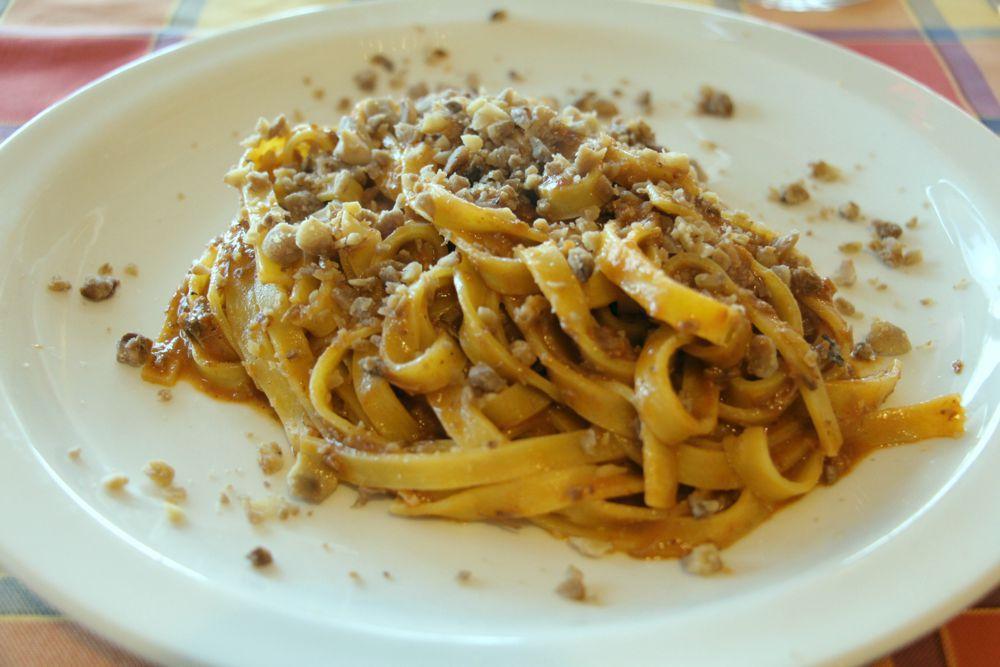 Fettuccine al ragù di Cinghiale - Trattoria Cacciatote Sulzano
