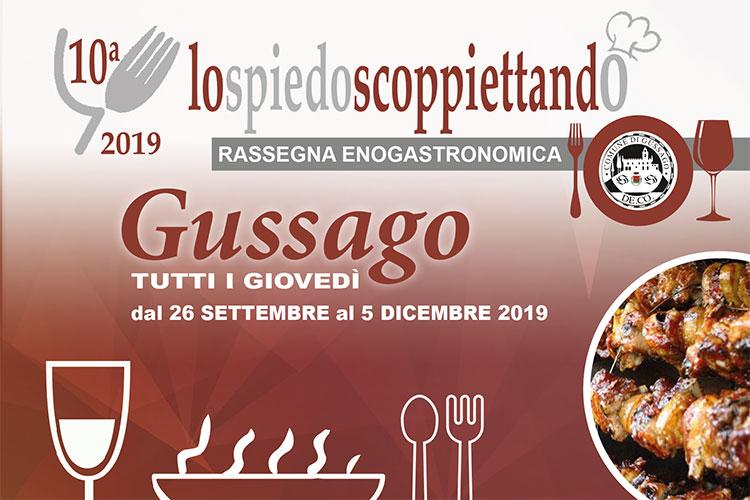 Lo spiedo scoppiettando 2019 a Gussago