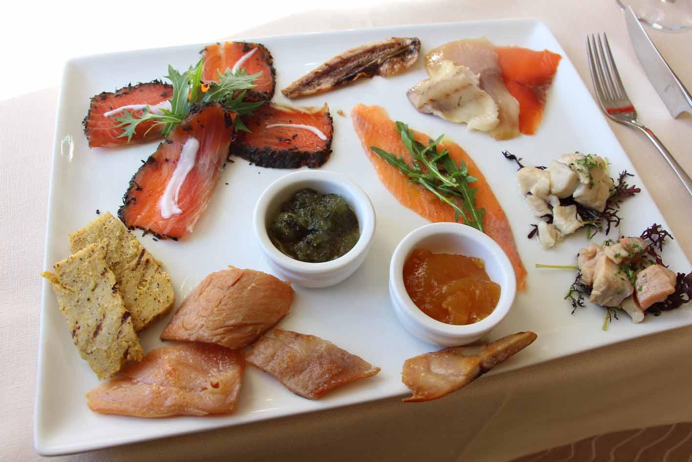 Degustazione Pesce | Trattoria Glisenti - Marone