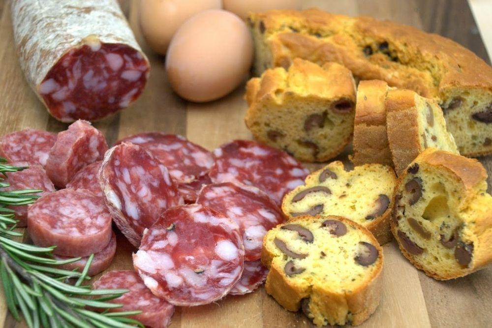Tradizioni pasquali: salame e uova sode