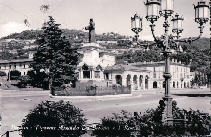 Piazzale Arnaldo e gli antichi Ronchi di Brescia