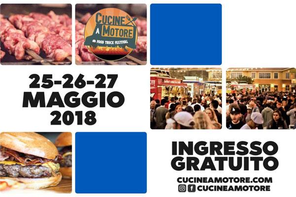 Cucine a Motore - Food Truck Festival a Brescia