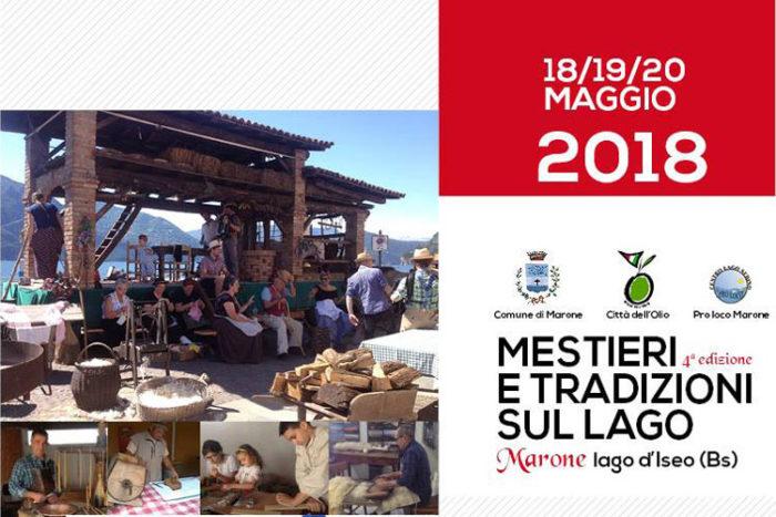 Mestieri e Tradizioni sul Lago 2018 Marone