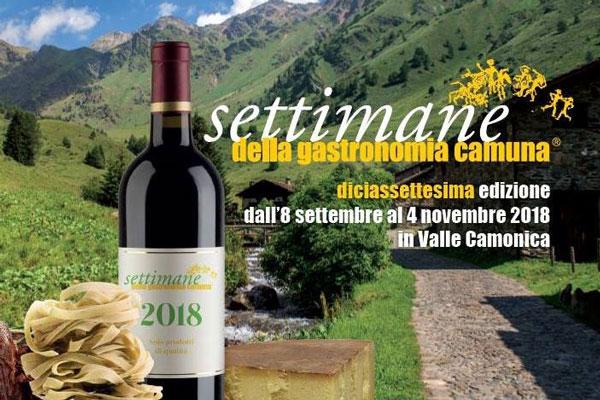 Settimane della Gastronomia Camuna 2018