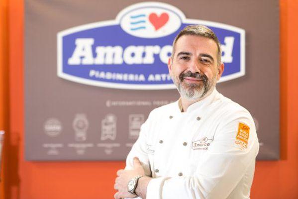 Simone Massenza patron della piadineria Amarcord