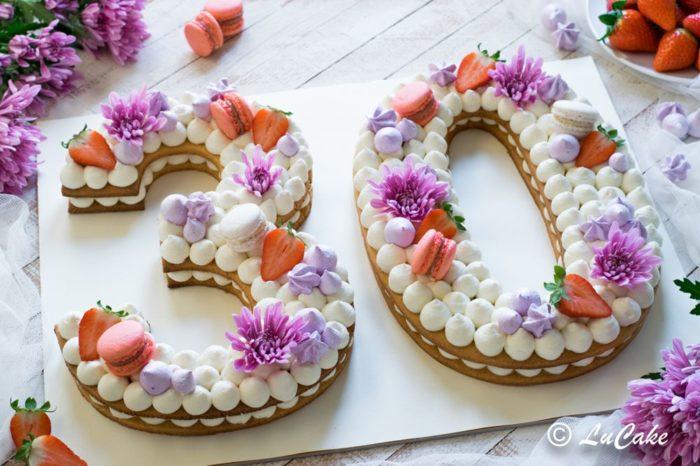 Number Cake del maestro pasticcere Luca Perego