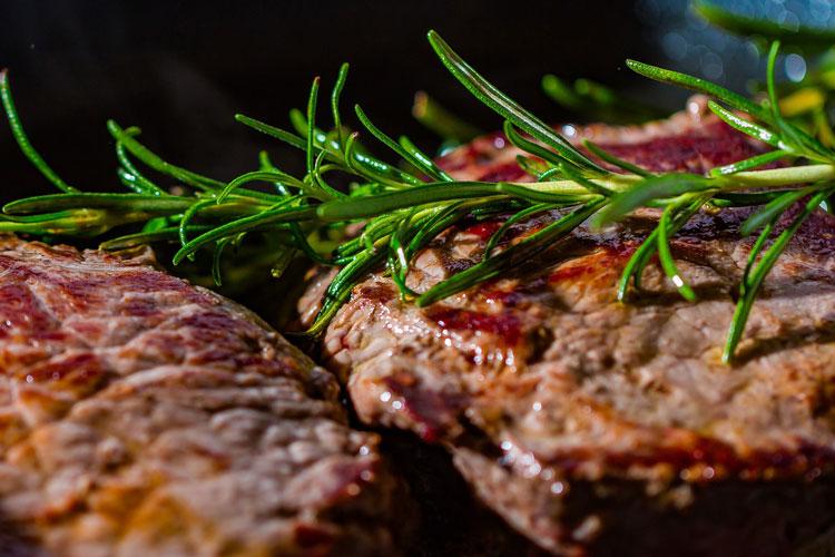 Secondo piatto carne alla griglia