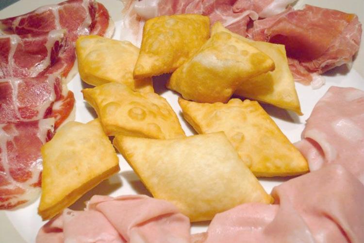 Gnocco fritto Stalla d'Italia