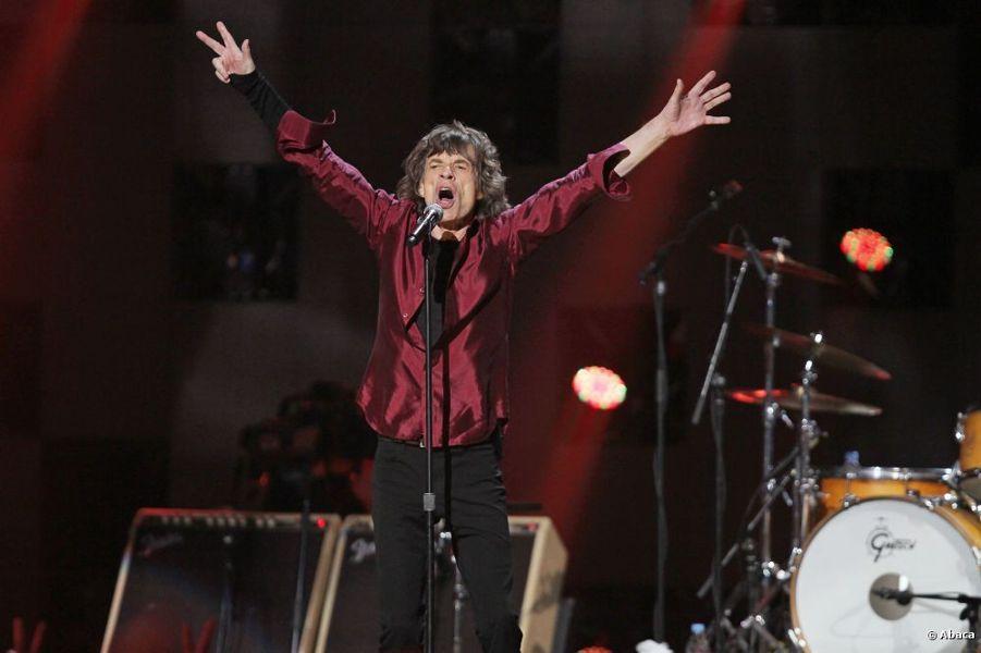 Mick Jagger sul palco