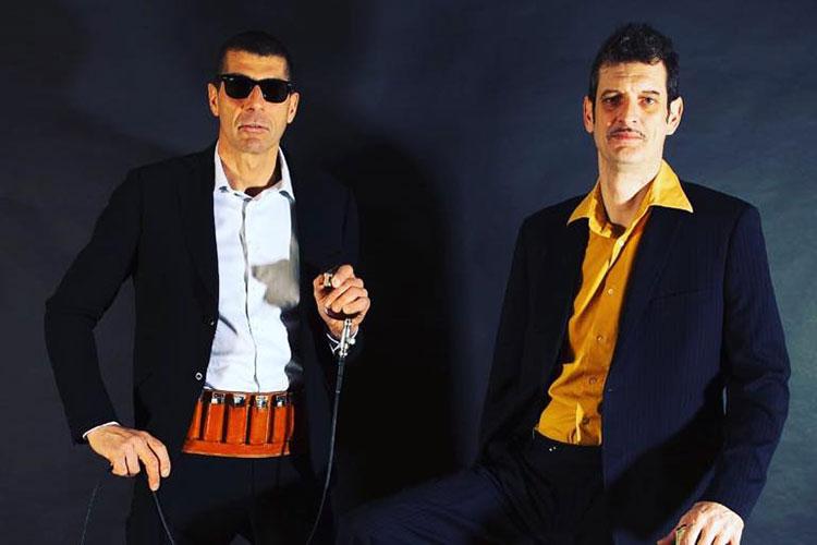 Cek & Habbott on stage all'Osteria della Zia Gabri