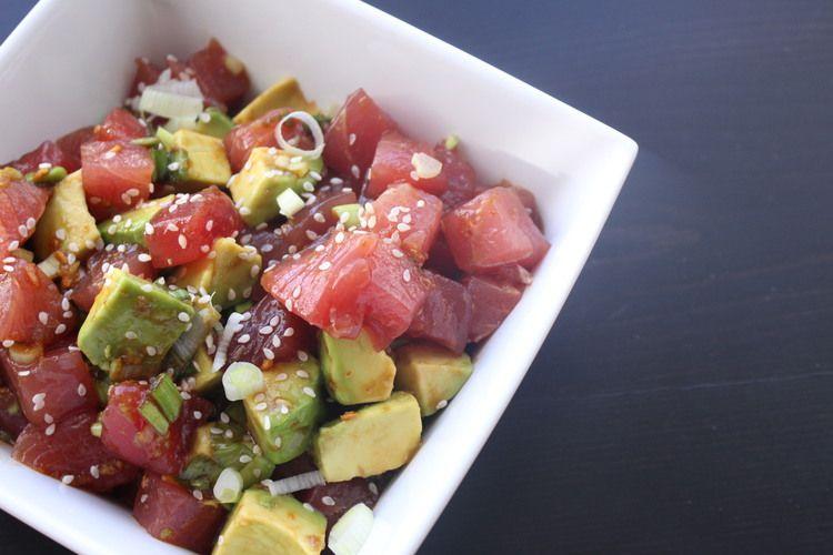 Poké di Tonno - Antipasto tipico delle Hawai