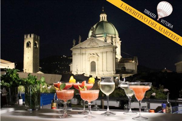 Aperitivo del Martedì sulla Terrazza Vittoria a Brescia