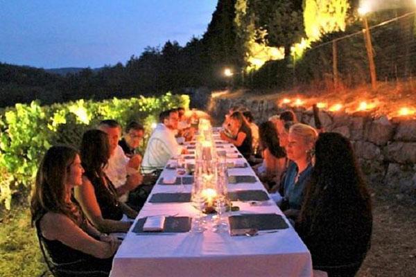 Cena sotto le stelle - Floriam Restaurant Caffè