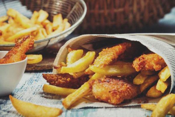 Menù Fish & Chips - Stella d'Italia