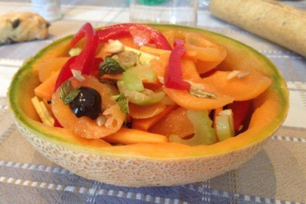 Melone alle verdure