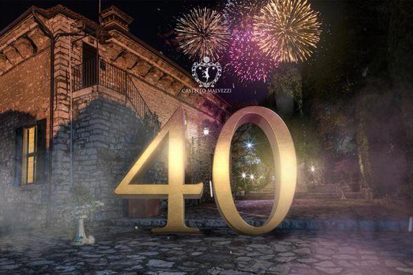 Castello Malvezzi - 40° anniversario