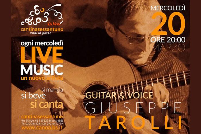 Giuseppe Tarolli - Live Music - Cantinasessantuno