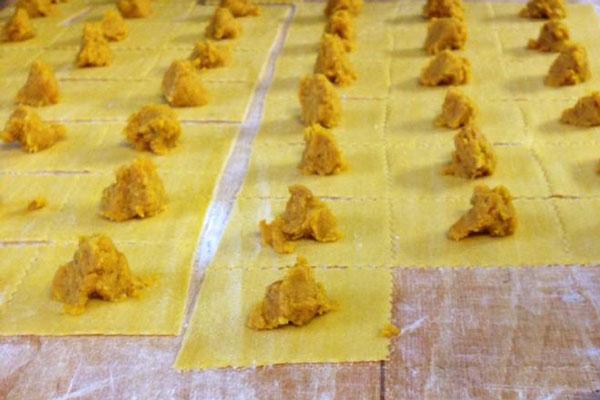 Tortelli di Zucca Ristorante Stella d'Italia di Gambara