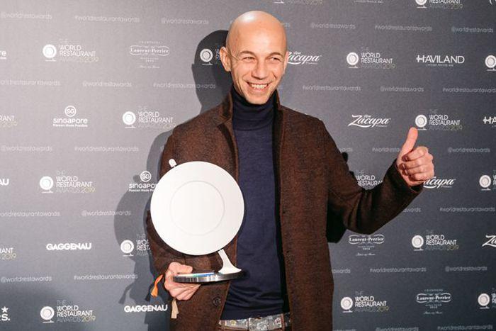 Chef Riccardo Camanini del Lido84