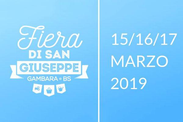 Fiera di San Giuseppe 2019 a Gambara