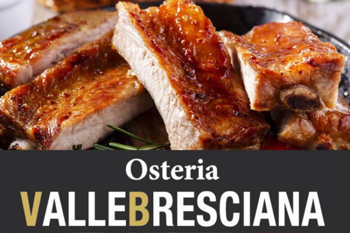 Menù Grigliata - Osteria Valle Bresciana