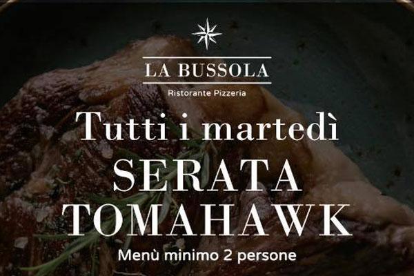 Serata Tomahawk - La Bussola di Brescia