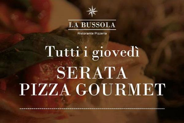 Serata pizza gourmet - Ristorante Pizzeria La Bussola di Brescia