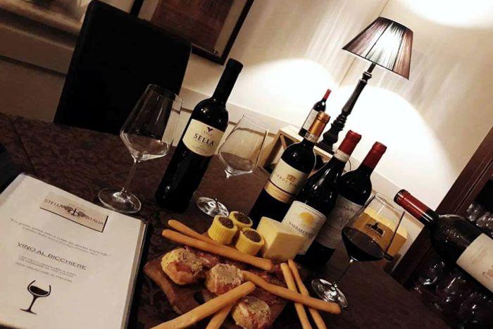 Vini e Distillati - Ristorante Stella d'Italia - Gambara