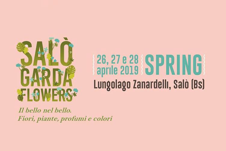 Salò Garda Flowers sul Lungolago Zanardelli