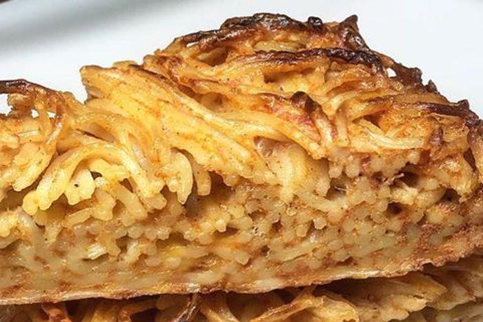 Frittata di pasta - Bertoldina