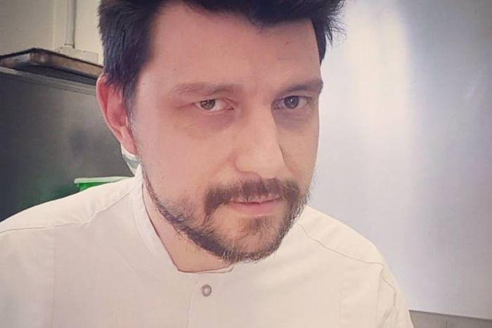 Lo Chef Alberto Gipponi del Ristorante Dina di Gussago