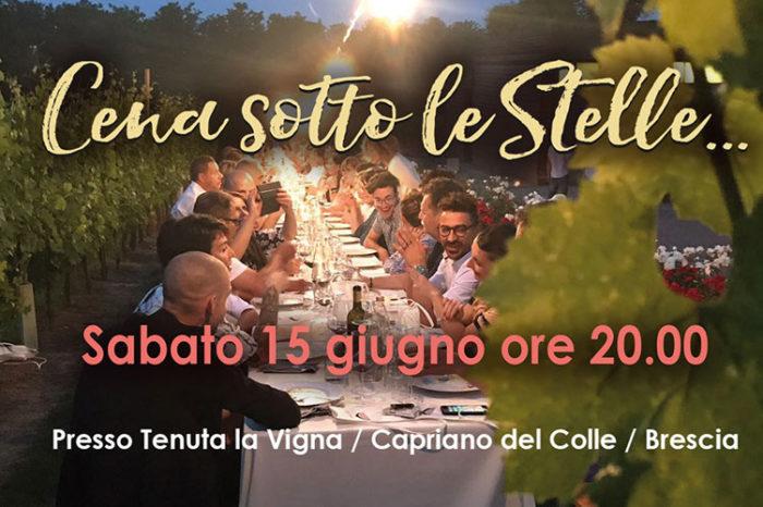 Cena Sotto le Stelle - Floriam 15 Giugno 2019
