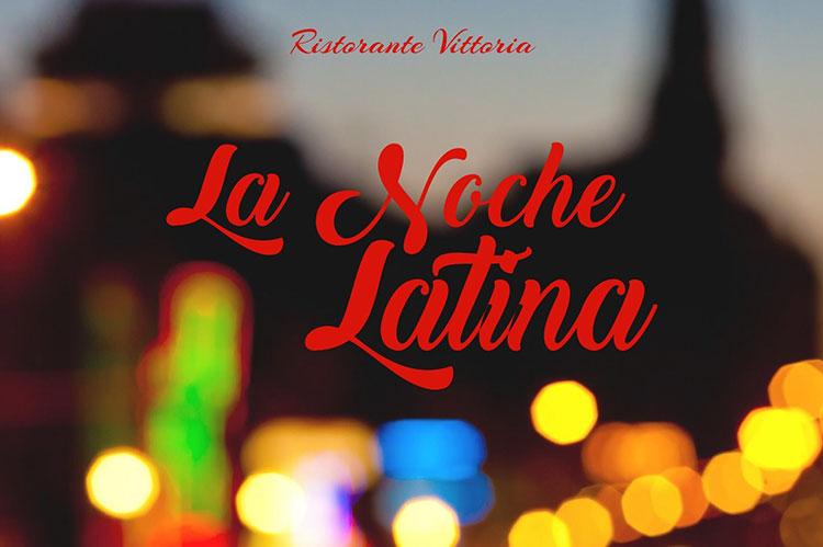 La Noche Latina - Vittoria