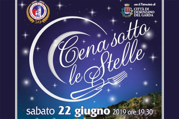 Cena sotto le stelle a Rivoltella